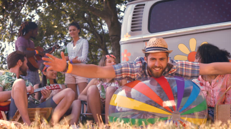 680985690-beach-ball-retro-revival-mini-van-music-festival